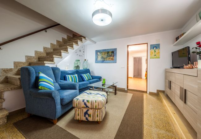 LOUNGE STAIRS, CA NA MARIONA, RENTALS POLLENSA